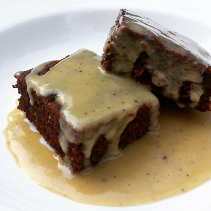 custard brownies